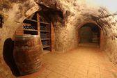 Wine tunnel — Stock Photo