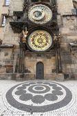 Uurwerk van Praag — Stockfoto