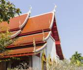 Asian art temple roof  — Stock Photo