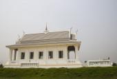 Temple d'église asiatique blanc — Photo