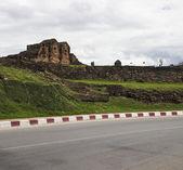 Ancient city wall of Chiangmai, Thailand — Photo