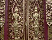 Asian angel sculpture art — Stock Photo