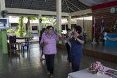 Banquet for elderly people — Stok fotoğraf