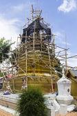 Renovating the asian pagoda — Stock Photo