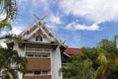Northern thailand style gable — Stock Photo
