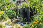 The man made waterfall  — Stock Photo