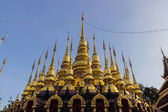 Thailand golden pagoda — Stock Photo
