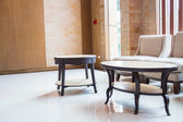 Canapé et un bureau dans la chambre design moderne — Photo