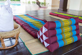 Thailand traditional mattress for spa massage — Foto de Stock