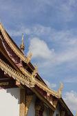 Design of asian temple roof — Foto de Stock