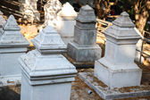 Asian cemetery — Stock Photo