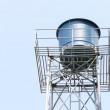 Water tank for water storage — Stock Photo #74969043