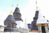 Architecture of buddhist pagoda in Thailand — Stock Photo