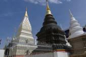 Architektura buddyjska Pagoda w Tajlandii — Zdjęcie stockowe