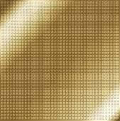 Brown embossing metallic circle background — Stock Vector