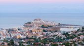 Panoramic view of Peniscola, Castellon (Spain) — Stock Photo