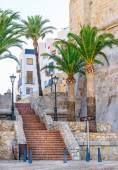 Beautiful view in Peniscola. Valencia, Spain — Stock Photo