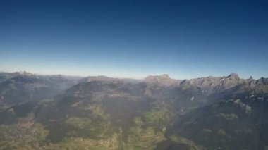 Alps Aerial View — Stock Video