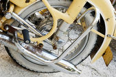 Motorbike wheel. — Stock Photo