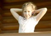 Outdoor portrait of girl. — Stock Photo