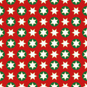 Christmas seamless wrapping paper - repeating — Stock Vector