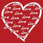 Vector image Valentine's Day — Vetor de Stock