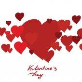 Vector image Valentine's Day — Stock Vector