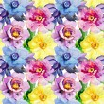 Seamless patterns with Beautiful flowers — Stock Photo #54916117
