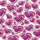 Hjärtan mönster. — Stockfoto