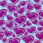 Hearts pattern. — Foto Stock