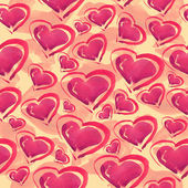 Hearts pattern. — Stock Photo