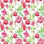 Floral watercolor seamless background. — Foto de Stock   #78598852