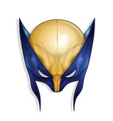 Mask of Wolverine — Stock Vector