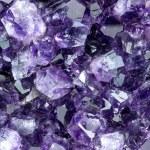 Background macro texture of purple amethyst — Stock Photo #59928861