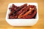 Closeup of kashmiri red chili — Stock Photo