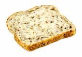 Slice of whole wheat multigrain toast — Stock Photo