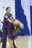 Minsk-Belarus, October 4,2014: Unidentified Professional dance c — Photo
