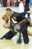 Minsk-Bělorusko, říjen 4,2014: neidentifikovaný profesionální taneční c — Stock fotografie