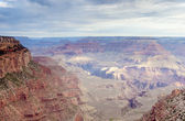 Very Early Morning Sunrise Hour at Incredible Grand Canyon — 图库照片