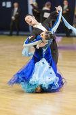 Minsk-Belarus, October 5, 2014: Unidentified Professional dance — Stock Photo