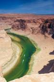 Partial View of Extraordinary Miraculous Horseshoe Bend in Arizo — Stock Photo