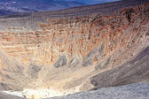 Geologische Formationen im Ubehebe Vulkan im Death Valley nationa — Stockfoto
