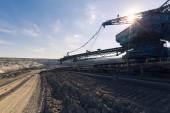 A huge mining machine — Stock Photo