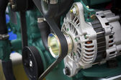 Engine generator — Stock Photo