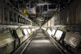 Poço de inspeção de veículo de reparação de estação — Fotografia Stock