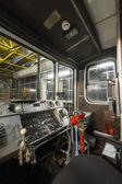 Cabina de metro tren coche — Foto de Stock