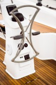 Ship steering — Stock Photo