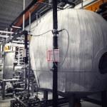 Brewery interior, equipment — Stock Photo #56742135