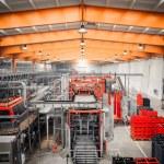 Brewery interior, equipment — Stock Photo #56742209