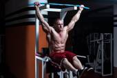 Abs Exercise For Six Pack — Stock Photo
